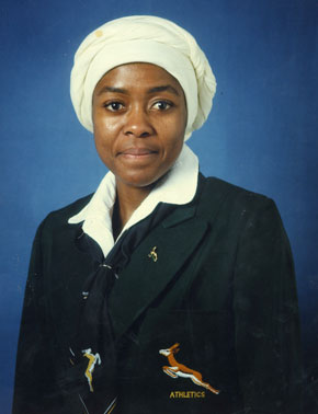 The Springbok colours awarded to Moila made in 1984 made her a first among black South African woman. Photo: Supplied