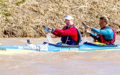 Adie Adamová Pair Ease to Fish River Win