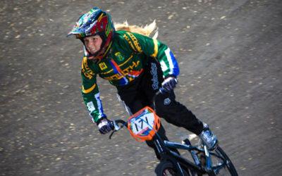 Elite BMX Star O'Keefe Proudly SA in San Diego