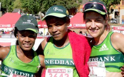 Gemeda, Makhanya and Kalmer Share 10km Honours