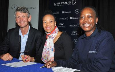 Mdodana Joins Laureus Ambassador Programme