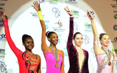 Legote is Africa's Rhythmic Gymnast Champ