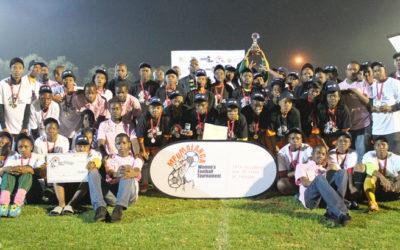 Francis Ladies Toast of Mpuma Football Cup