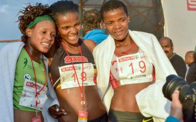 Diana-Lebo Defends SPAR 10km PE Title