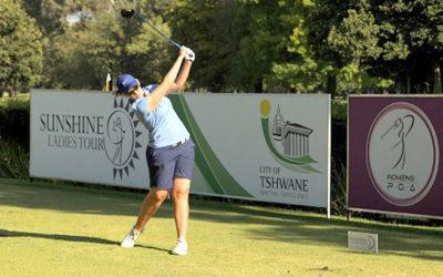Smit Closes the Gap as Simon Sizzles at Ladies Tshwane Open