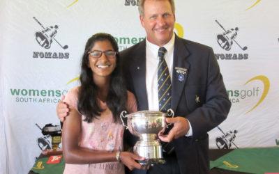 Kaiyuree Moodley Overcomes Storms for Nomads SA Girl's Rose Bowl