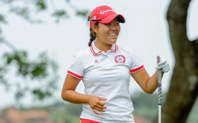 Nomads SA Girls Golf Champs Leaderboard Logjam