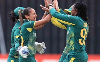 Skipper Van Niekerk Stars in SA's Emphatic World Cup Win over India