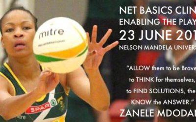 Zanele Mdodana Contributes to the Development of Netball