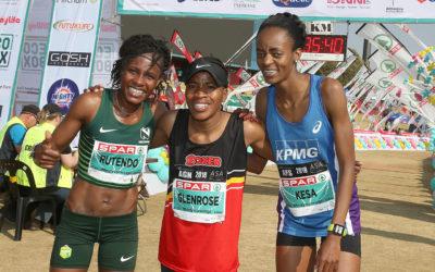 Xaba Wins her Maiden SPAR Women's 10km in Pretoria