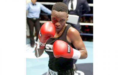 KwaZulu-Natal Pro Boxer Thema Zuma Scrapping for a Fight