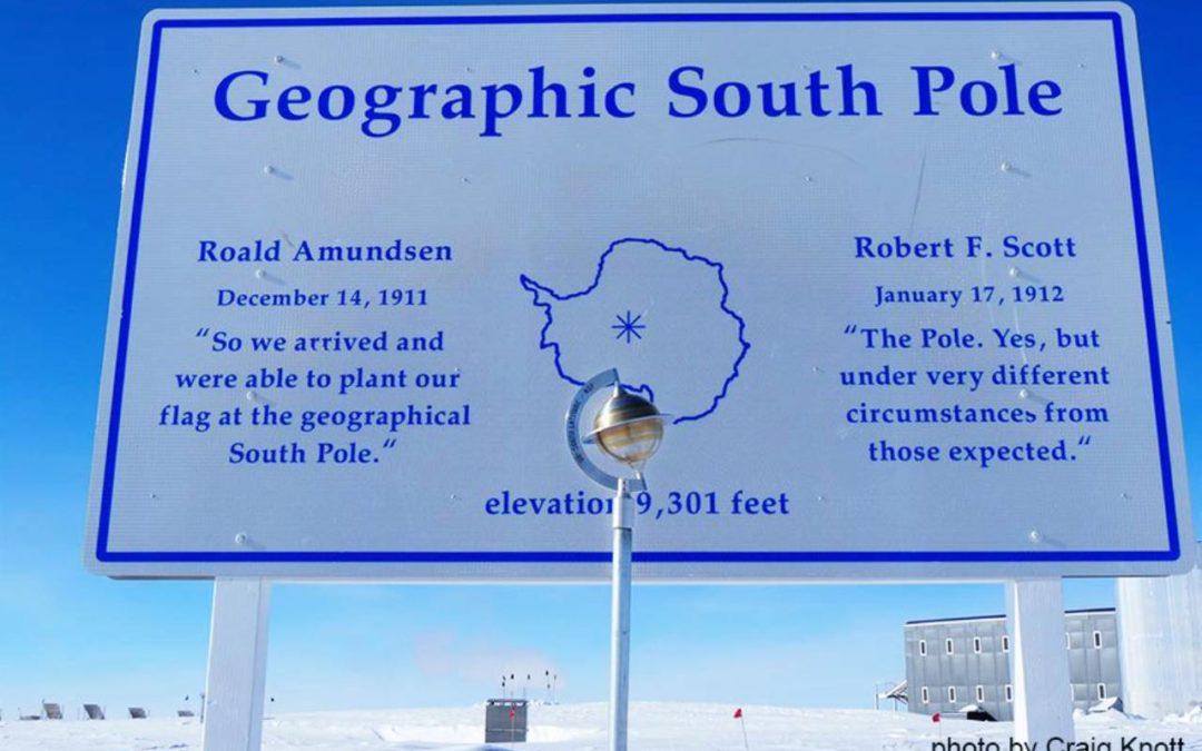 Saray Khumalo Reaches South Pole