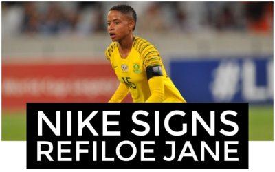 Nike Signs Refiloe Jane