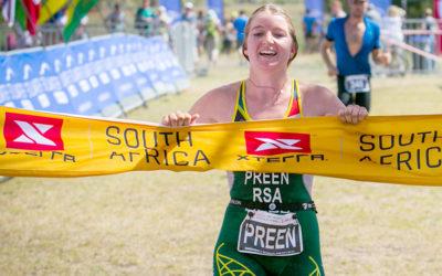 Preen Wins her Debut XTERRA SA Title