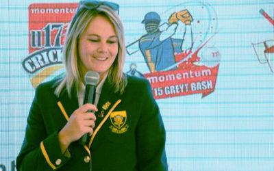 Van Niekerk blasts SA Emerging Women to Series Win