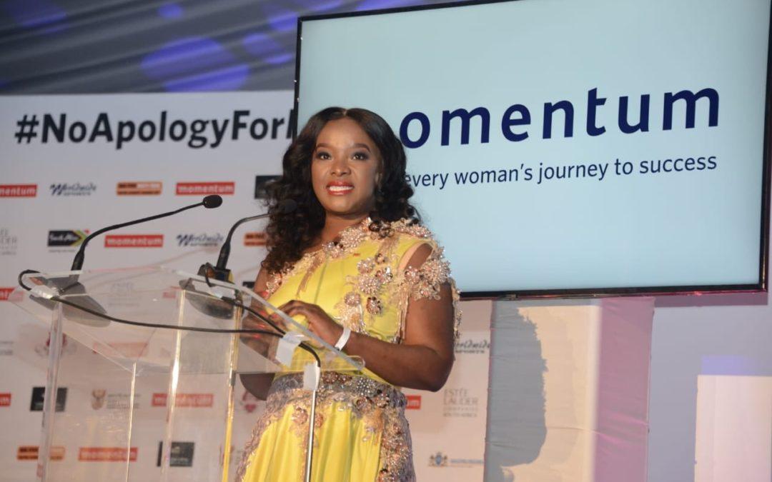 Madonsela Gives Women's Sport Momentum