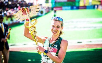 Gerda Steyn Wins Dubai 10km Road Race