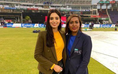 How Zainab Abbas Became the Face of Pakistan Cricket