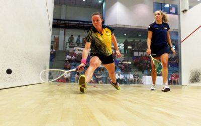 Pienaar at the pinnacle of varsity squash