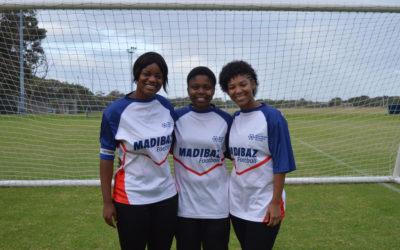 Good Mix in Madibaz Women's Football Team for USSA Week