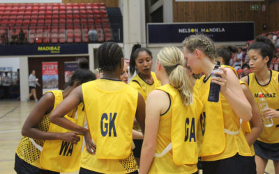 Record Numbers Attend Madibaz Netball Tournament