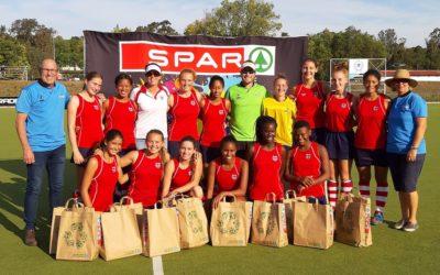 Queenstown Girls' High Land SPAR Hockey Title