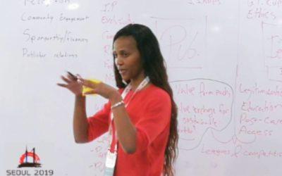 MSSA's Amanda Pakade Impresses at IESF National Federation Workshop