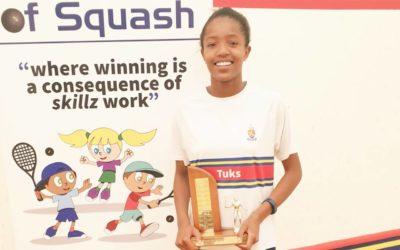 Malinga Named 2019 Tuks Squash High School Girls' Champ