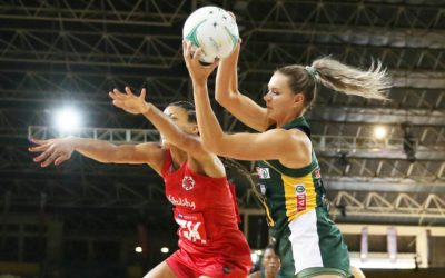 Vitality Roses Draw First Blood in SPAR Challenge Netball Series