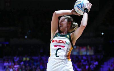SPAR Proteas Star Erin Burger Retires from International Netball