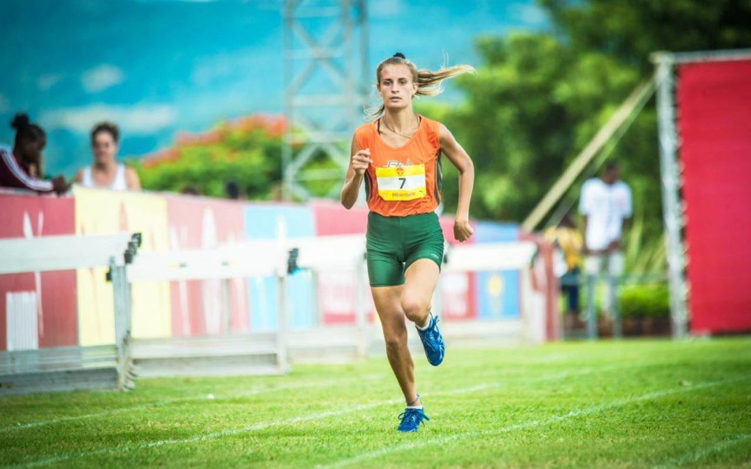 Jonker Dominates Athletics Track