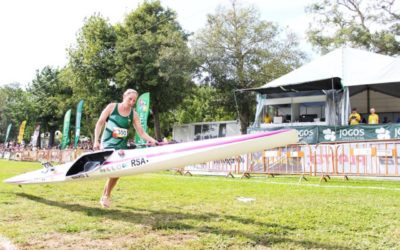 Day Three Sees Team SA Paddlers Claim Ninth and Sixteenth Spots