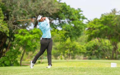 Dlamini Tames Wind to Lead at Selborne
