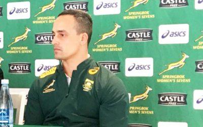 Delport Names Springboks Sevens Squad for African Qualifiers