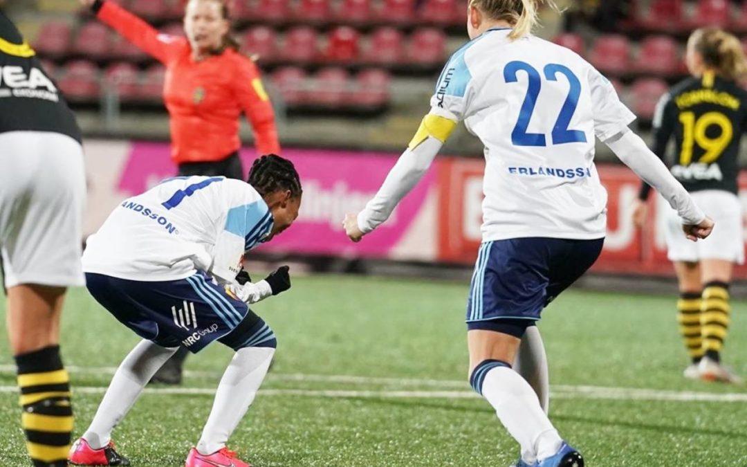 Banyana's Motlhalo Off to an Impressive Start in Sweden