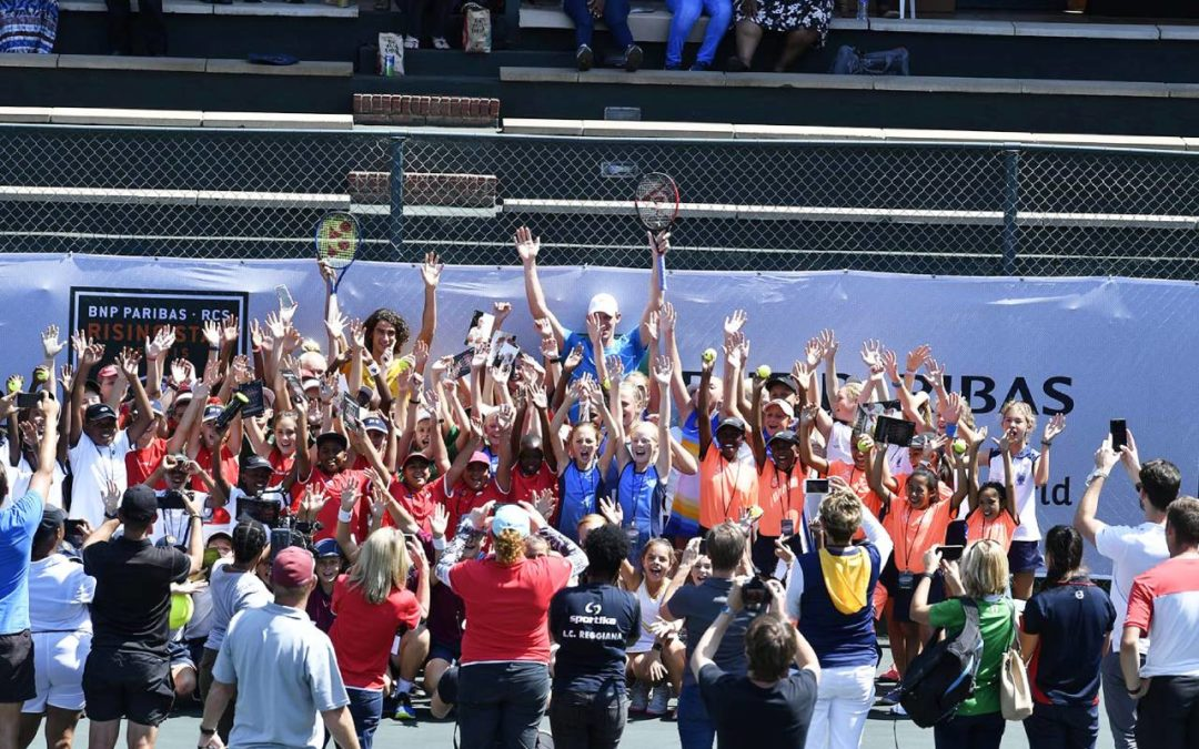 Exciting Start to Rising Star Tennis Finals