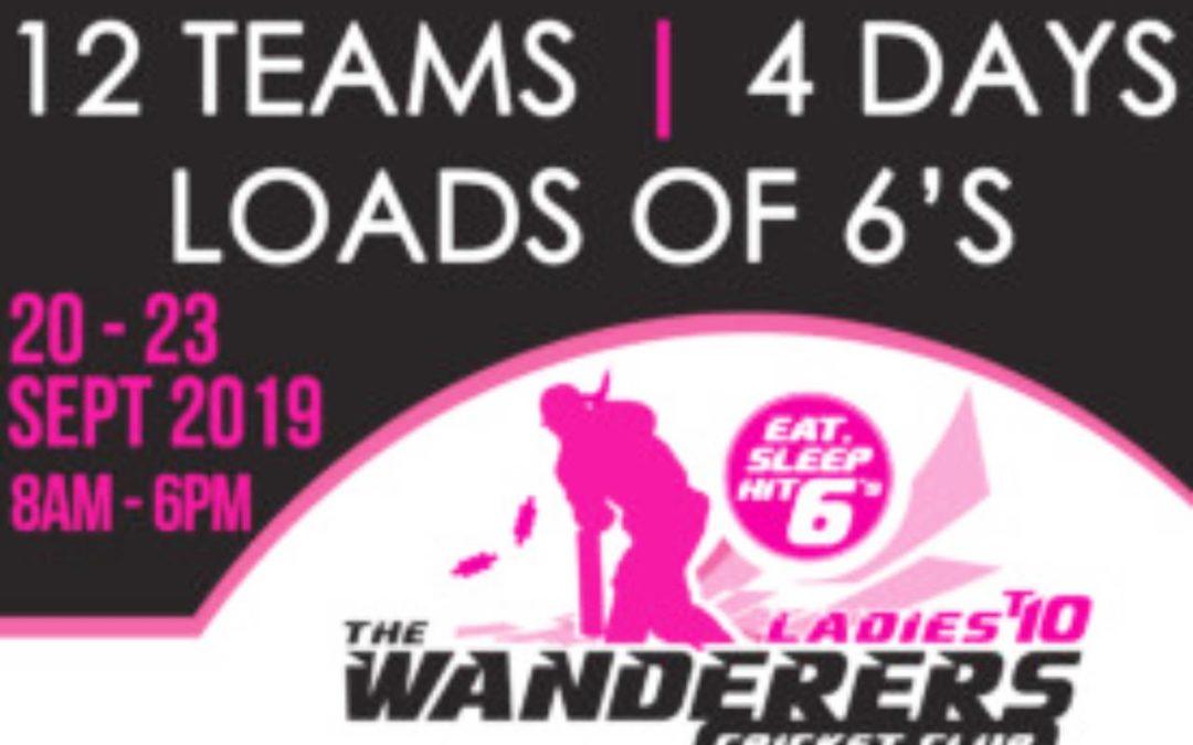 Wanderers Ladies T10 Cricket Tournament 2019