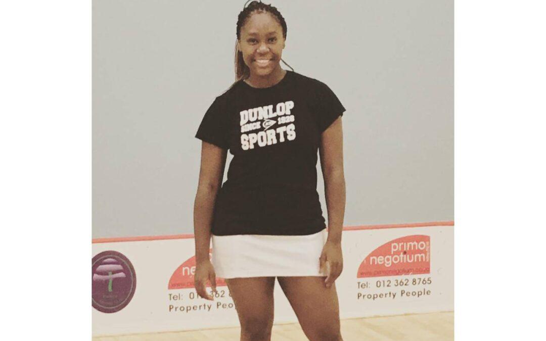 Makgosi Peloakgosi Wants to Put SA Squash on the Map