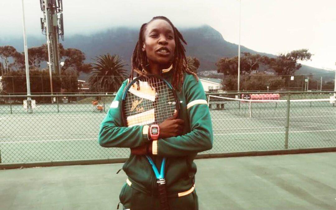 Asnath Sebati Impacts Lives of Future Tennis Stars