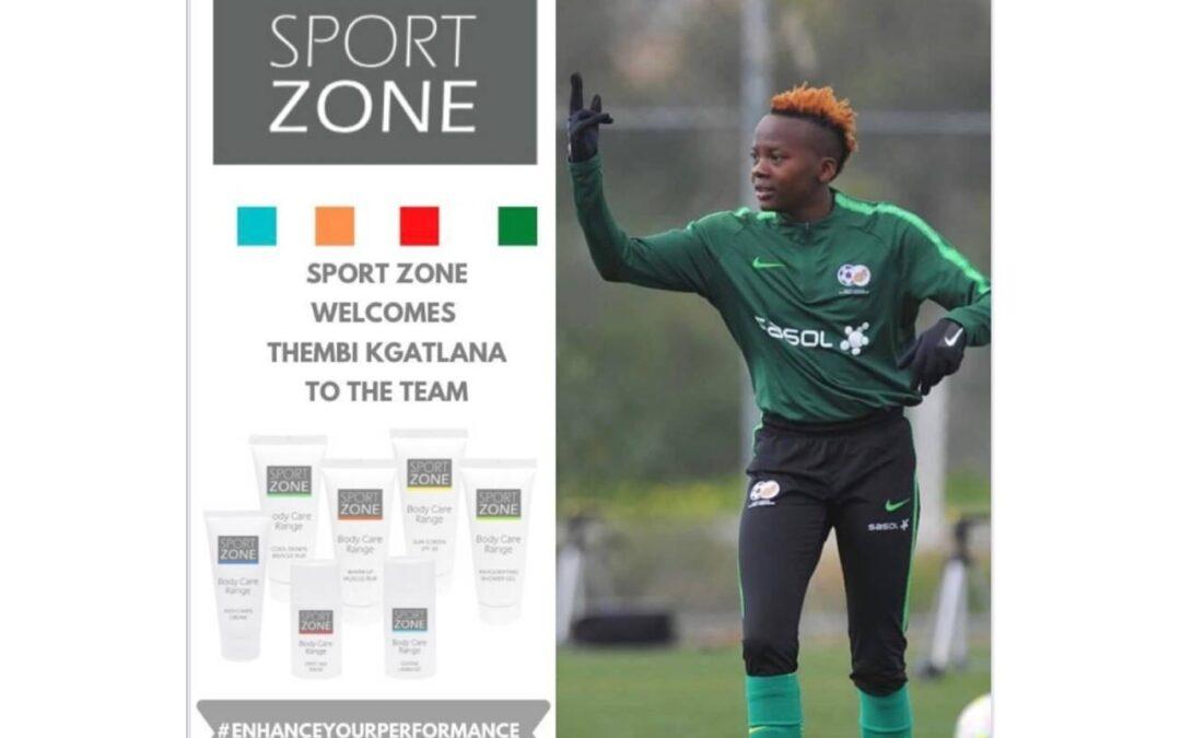 Thembi Kgatlana Joins Sport Zone as Brand Ambassador