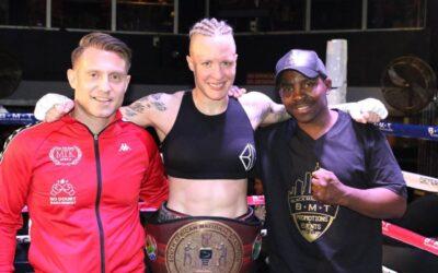 Hedda Wolmarans Packs a Mean Punch