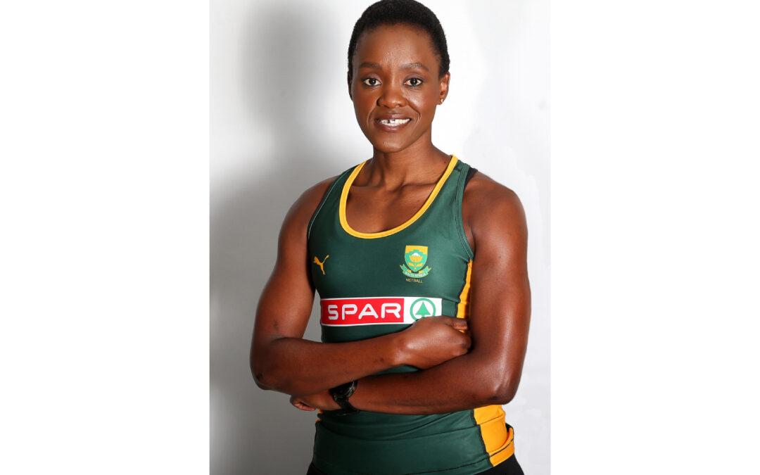 Pictured is South African Netball Captain, Bongi Msomi. Join Bongi Msomi in the 2020 SPAR Women's Virtual Challenge as she spreads some sunshine on the 26thof September 2020.Photo: Reg Caldecott