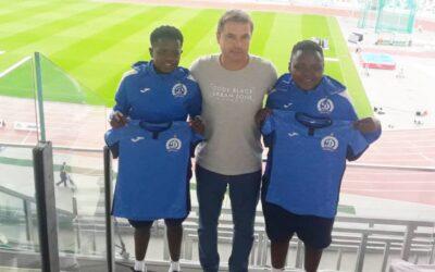 Banyana Banyana Duo Join FC Dinamo Minsk