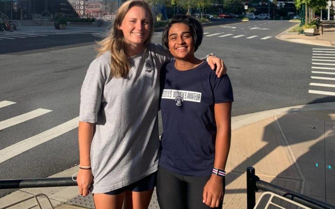 SA Pair Debut in U.S. Women's Amateur