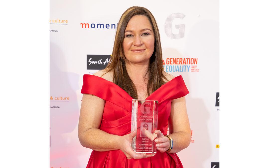 Marizanne Kok Finally Bags Momentum gsport Award
