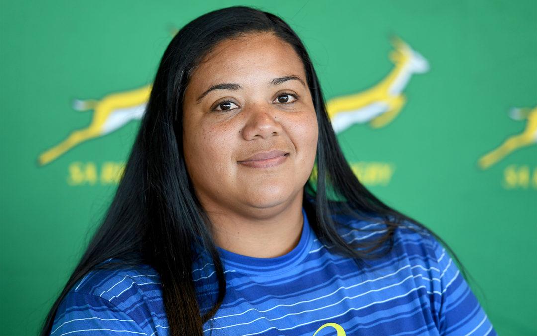 Laurian Johannes Appointed Springbok Women's Coaching Intern