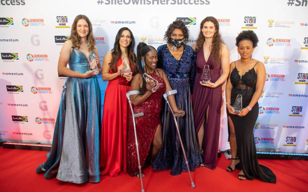 Minister Nathi Mthethwa Salutes Momentum gsport Awards