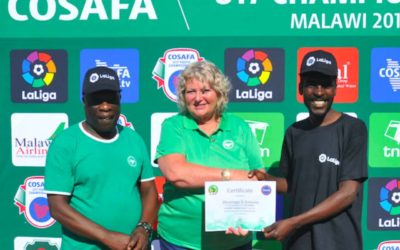 COSAFA to Help Showcase Under-15 Girls' Football