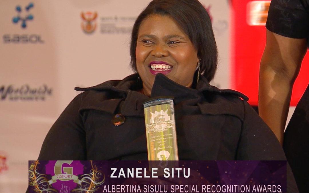 Zanele Situ Eyes Olympics Despite Financial Challenges