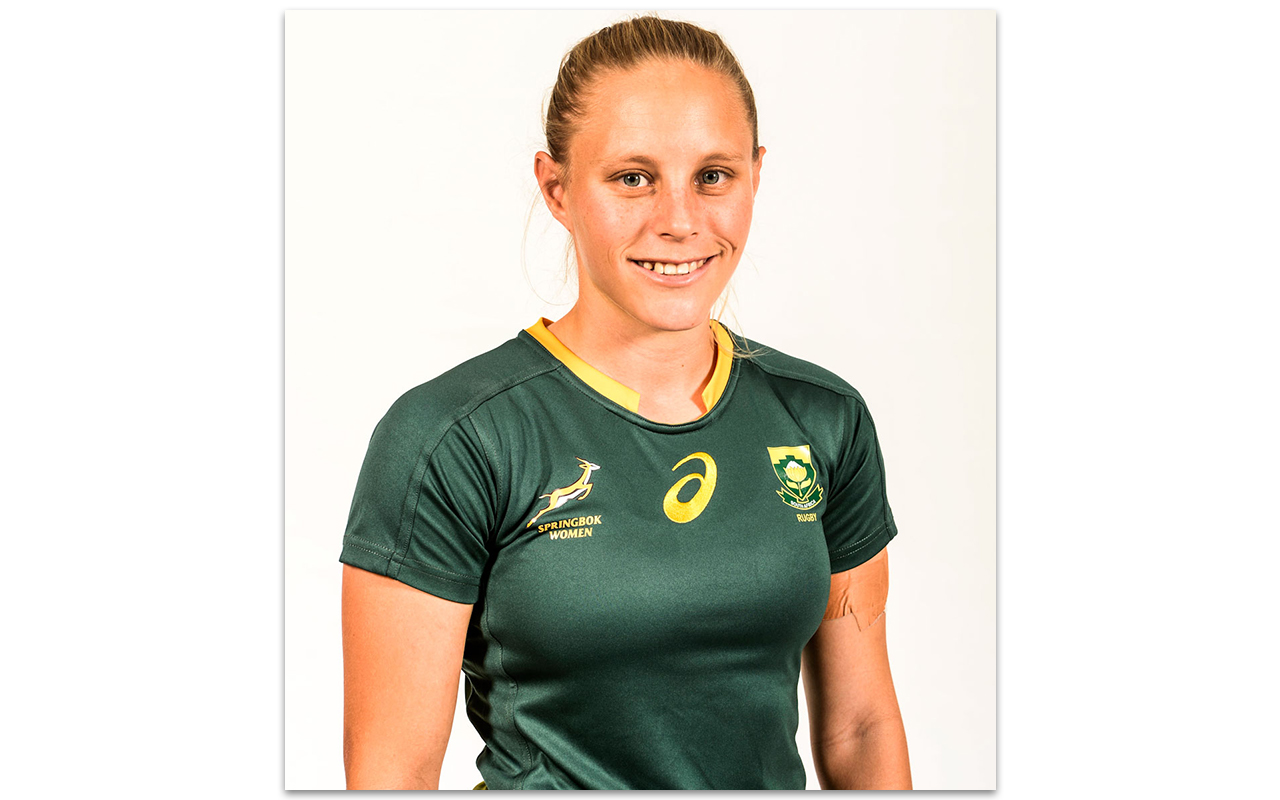 Springbok Women's fullback Eloise Webb, an all-round athlete boasting cricket, javelin and netball cred, talks about rugby as a professional athlete. Photo: Supplied
